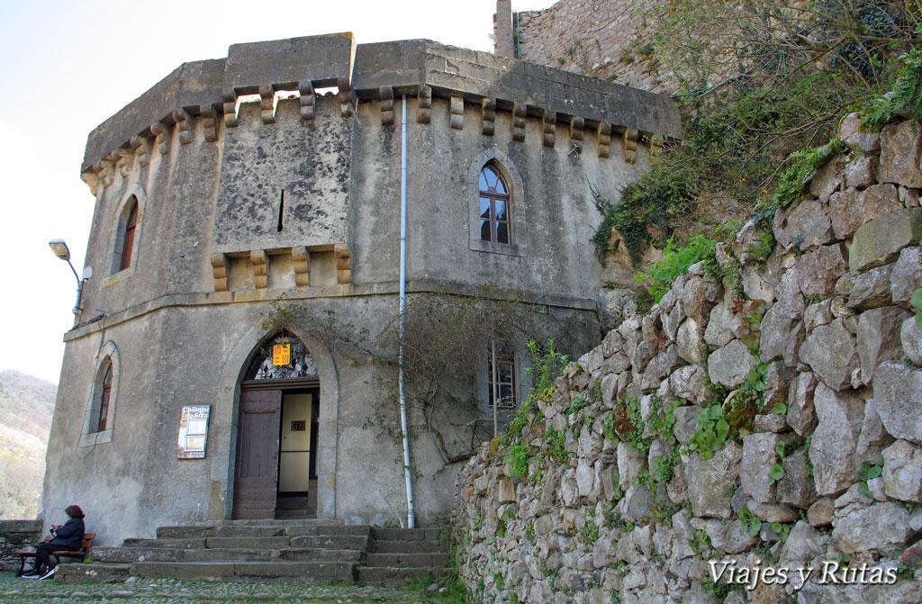 Entrada al castillo de Foix
