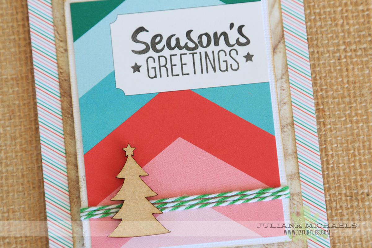 Christmas Card Ideas using Elle's Studio Good Cheer Collection by Juliana Michaels
