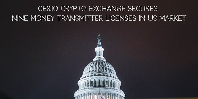 CEX.IO Crypto Exchange secures Nine Money Transmitter Licenses in US Market