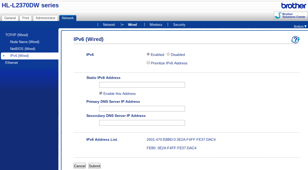 IPv6 - The future of the Internet: IPv6 Printer Support