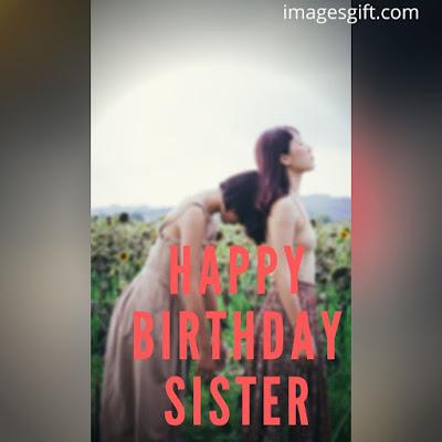 happy birthday image sister