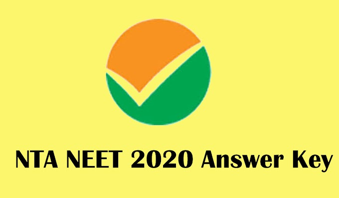 Download NEET 2020 Official Answer Key