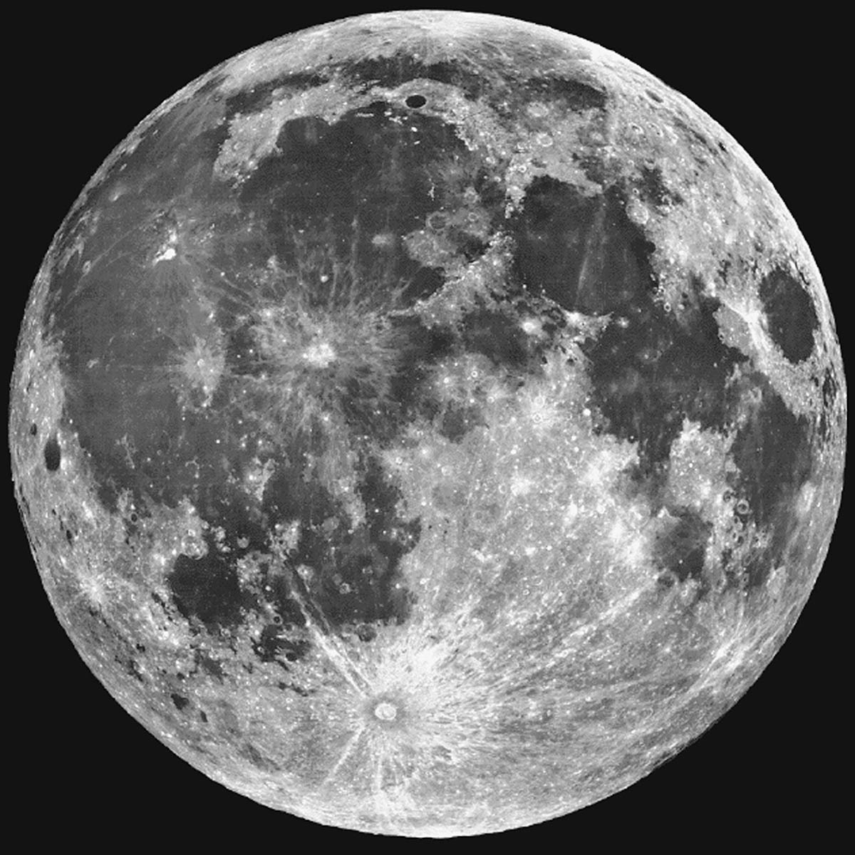 A Lua na mira do Hubble