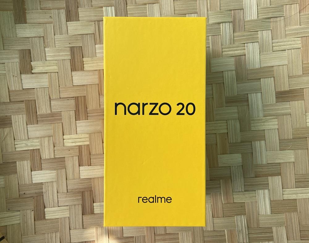 realme narzo 20 Retail Box