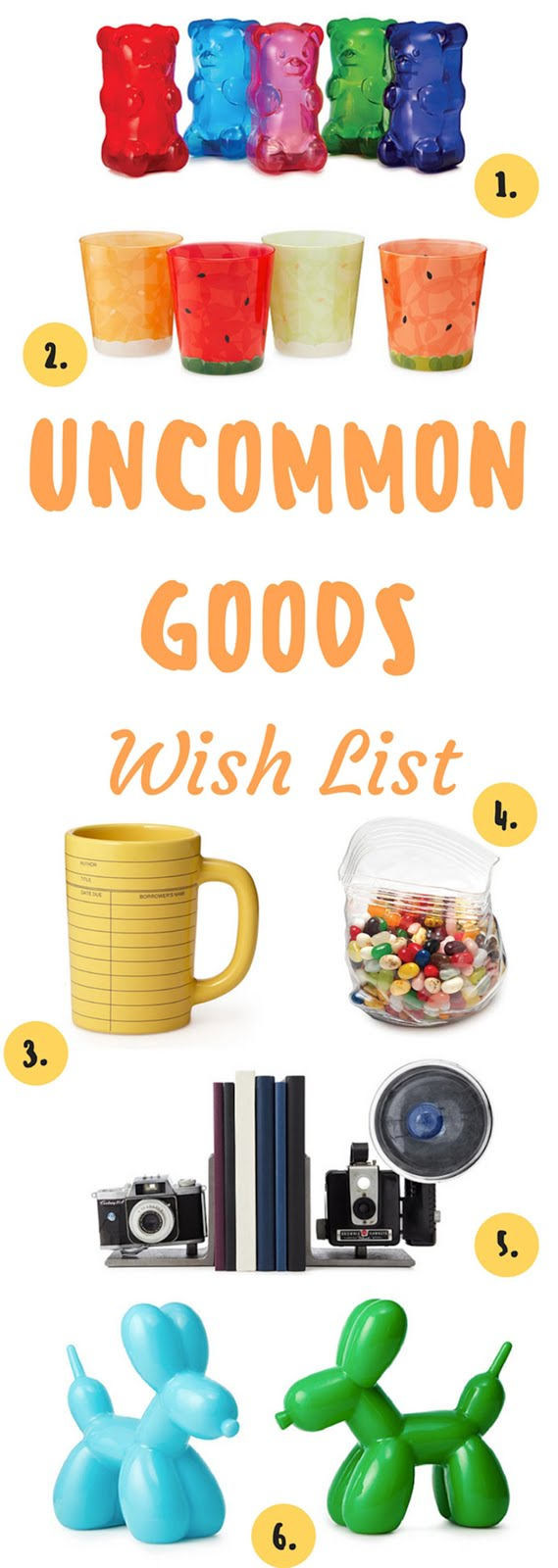 Uncommon Goods Home Decor Wish List