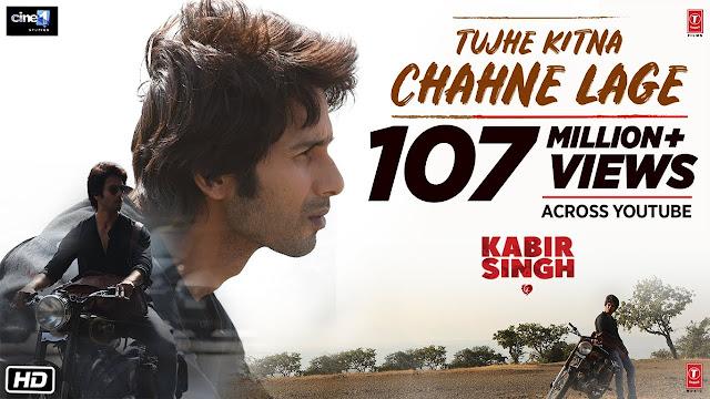 Tujhe Kitna Chahne Lage Lyrics in Hindi