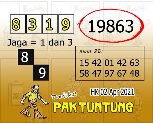 Syair HK Jumat 02 April 2021 -