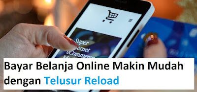 Bayar Belanja Online (TOkopedia, Bukalapak, Shopee, Lazada)