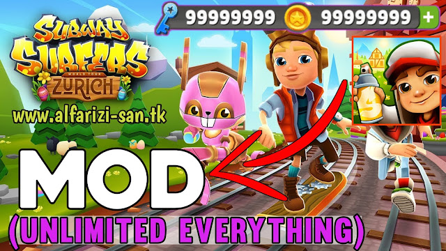 Subway Surfers Apk v2.2.0 MOD, (Unlimited Money/Coins/Key) for Android
