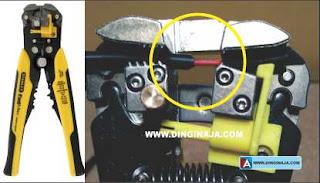 Tang kupas kabel otomatis adjustable