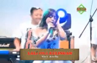 Lirik Lagu Lali Ora Kelingan - Wiwik Arnetha
