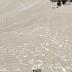 بالصور عواصف صحراوية تُغيّر لون الثلوج في جبال الألب