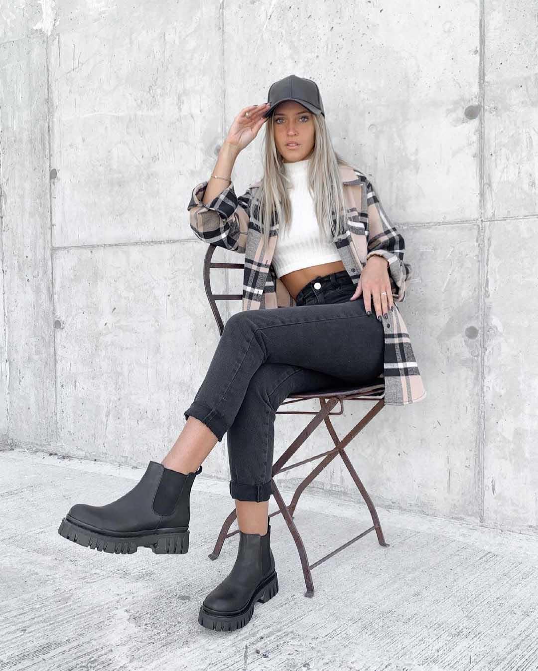 pantalones chupines invierno 2021 moda mujer 2021