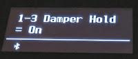Kawai ES520 damper hold function