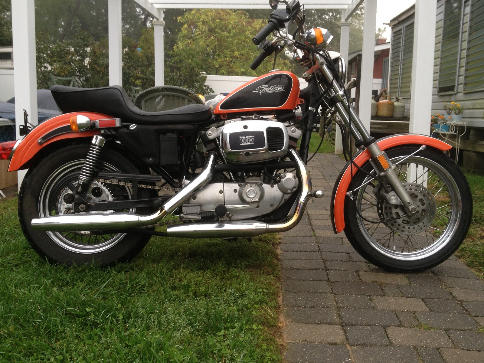 1981 XLH.. The History Of The Milwaukee Sportster Is An