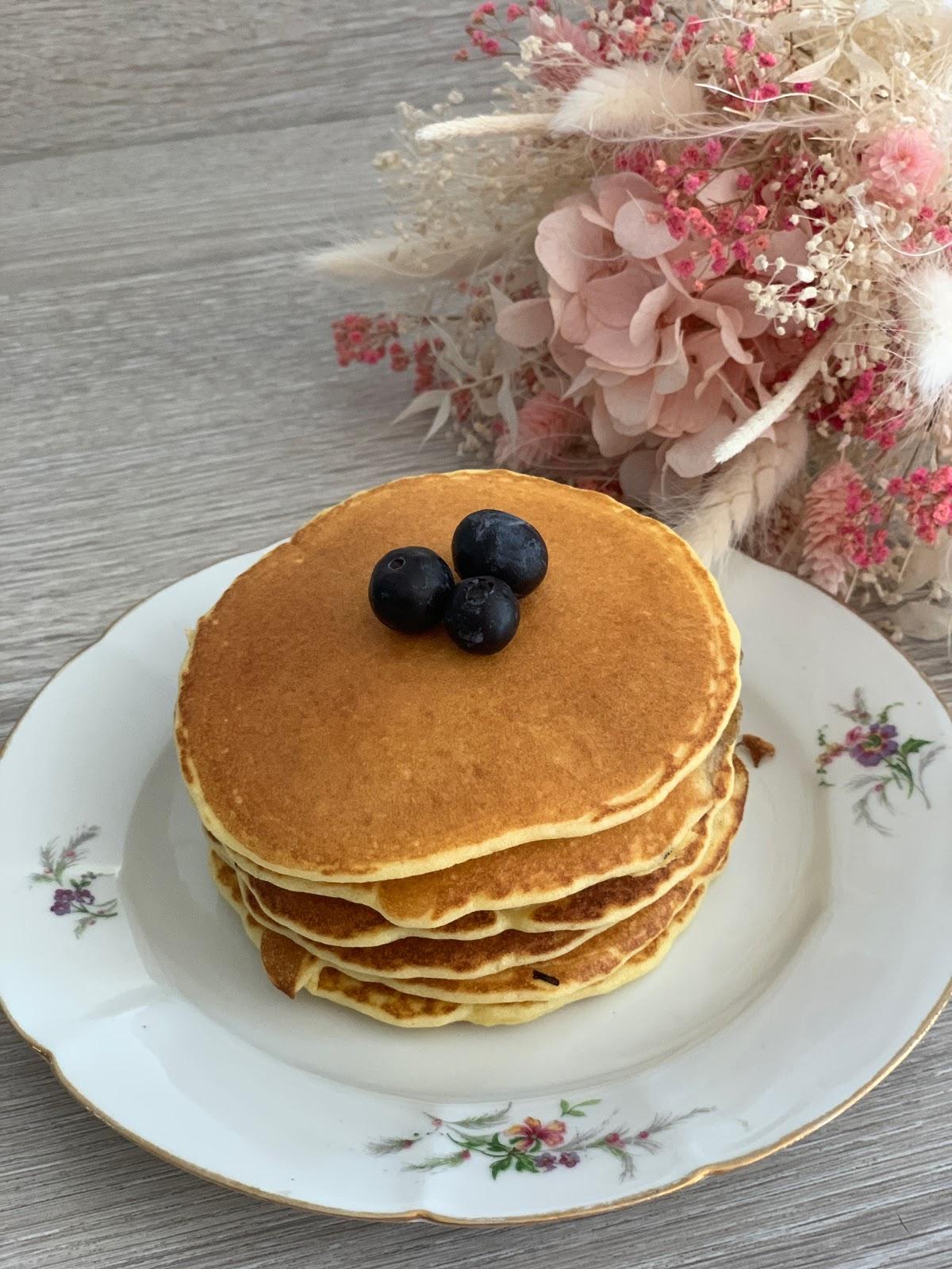 recette pancakes facile, les petites bulles de ma vie, cuisine