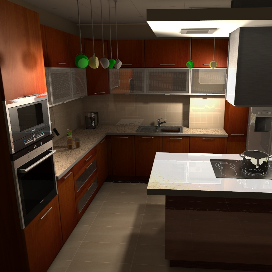 Renovasi Dapur Model Lama Di Ganti Gaya Minimalis