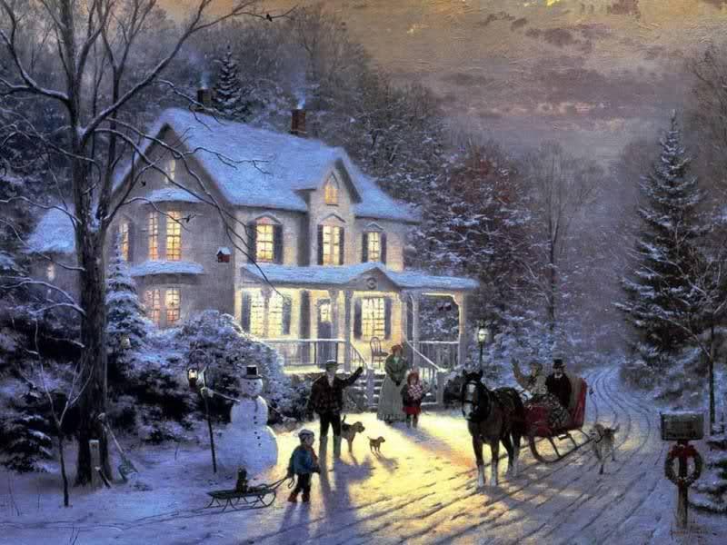 Melly Pictorul Luminii Thomas Kinkade