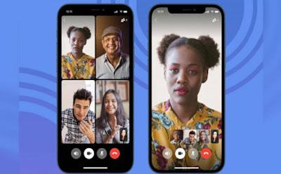 تطبيق سيجنال بديل واتساب : شكل المكالمة الجماعية