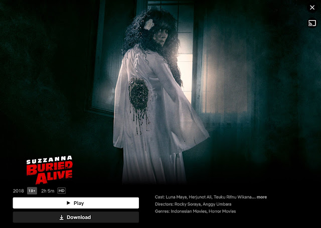 Indonesian horror movie