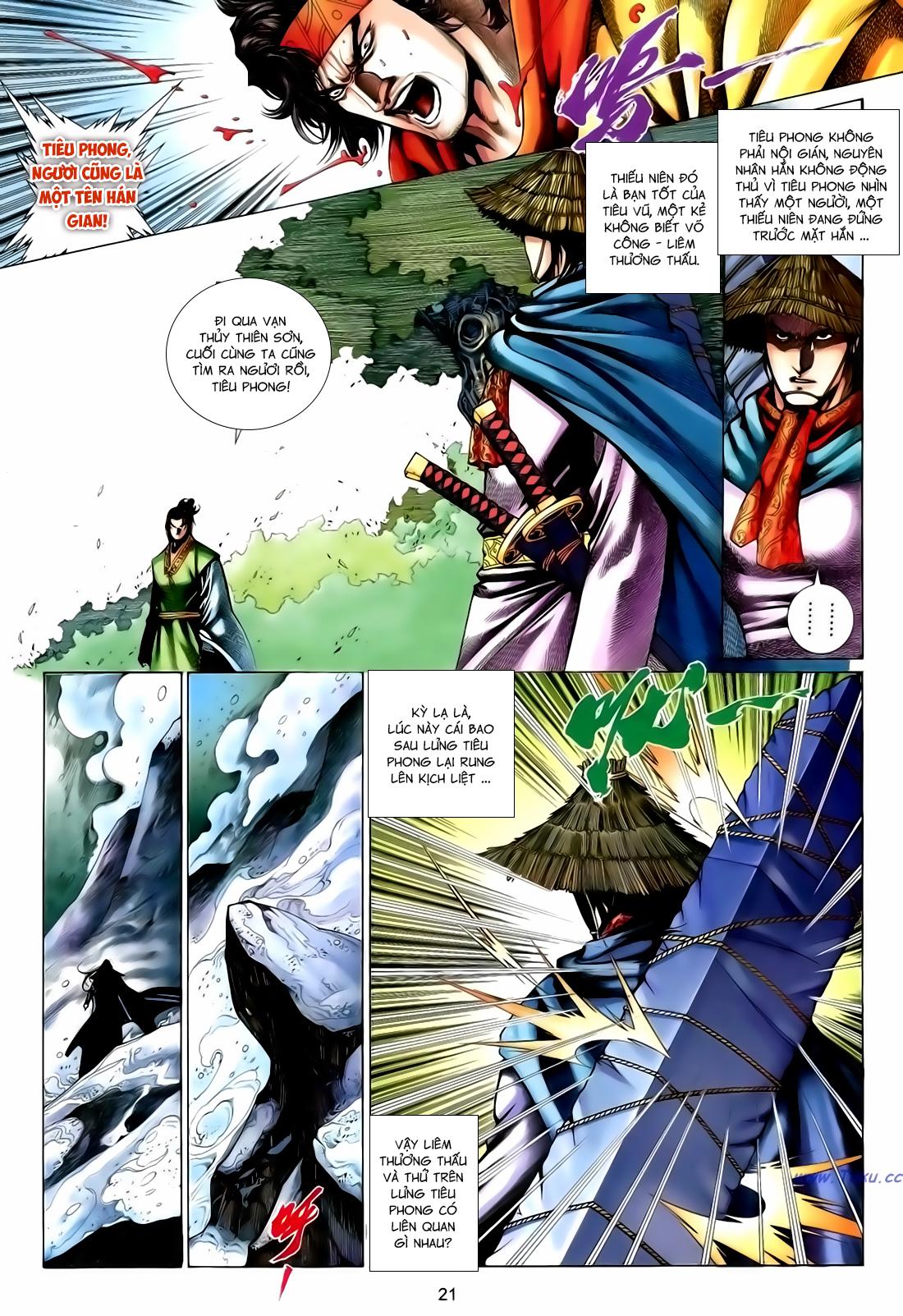 Anh Hùng Vô Lệ Chap 167 - Trang 21