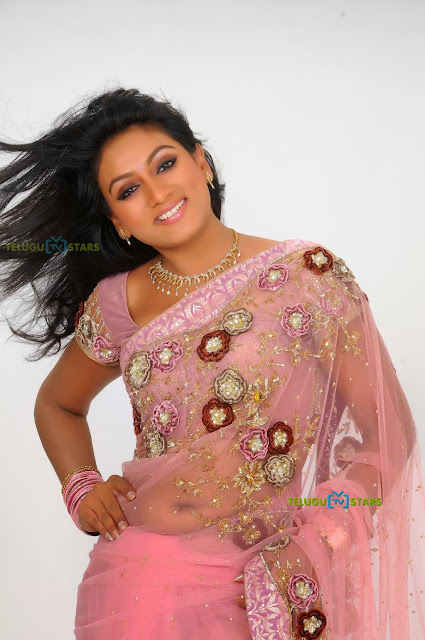 ashmita Beautiful in saree stills