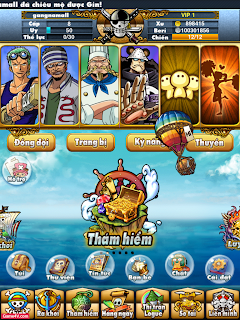 Hack game vua hải tặc