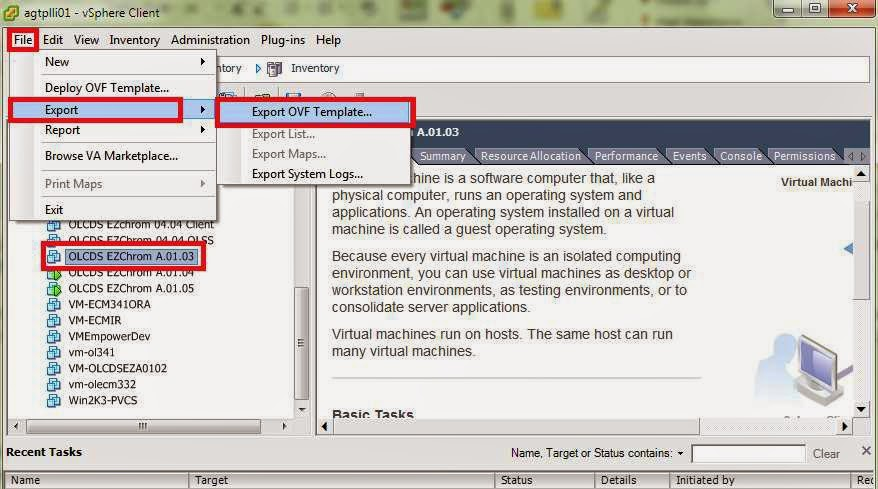 Vmware Ovf Template  setting up vcloud connector in your