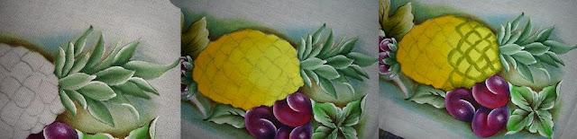 pintura em tecido abacaxi passo a passo como fazer