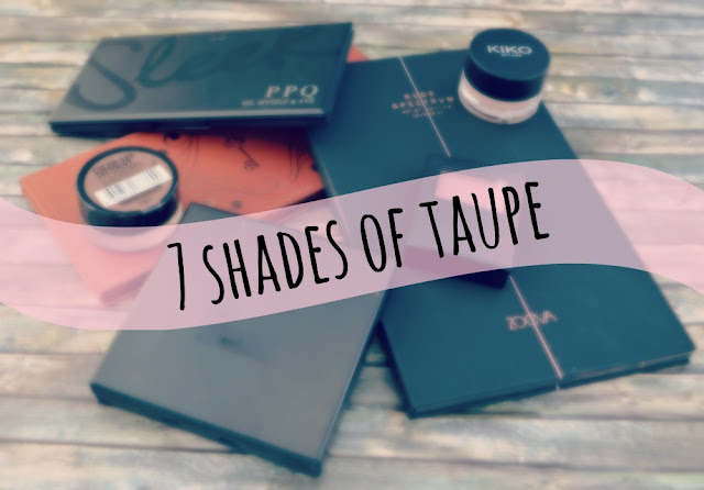 7 shades of taupe Lidschatten