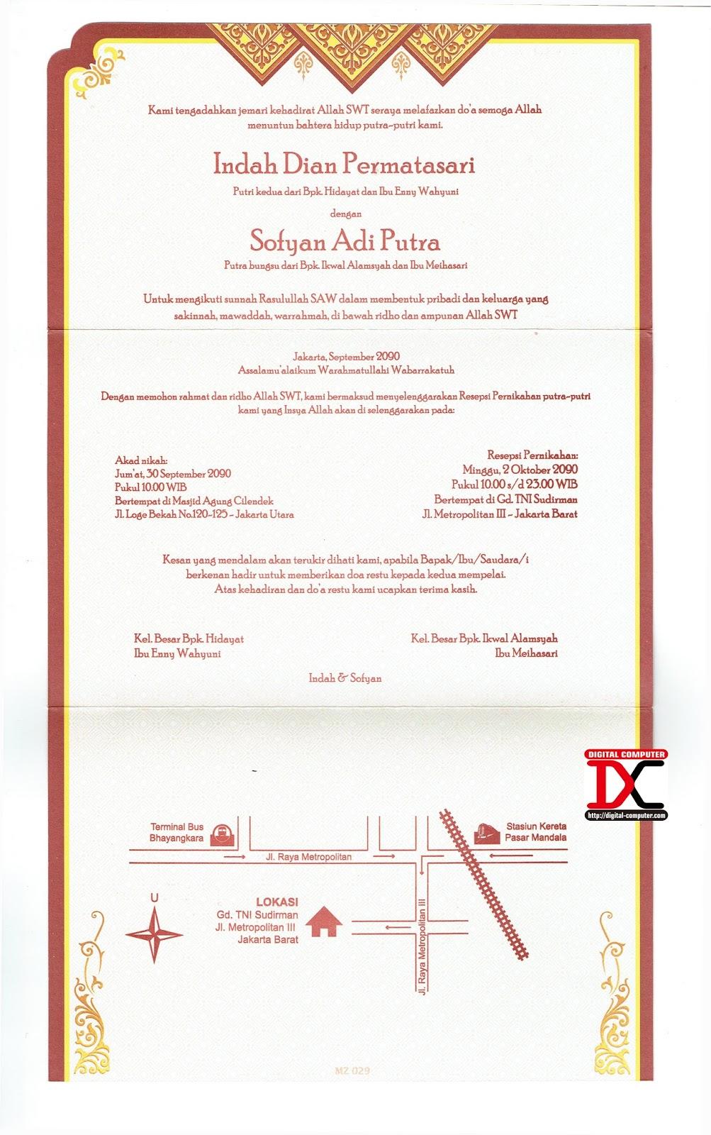 cetak undangan murah jakarta selatan