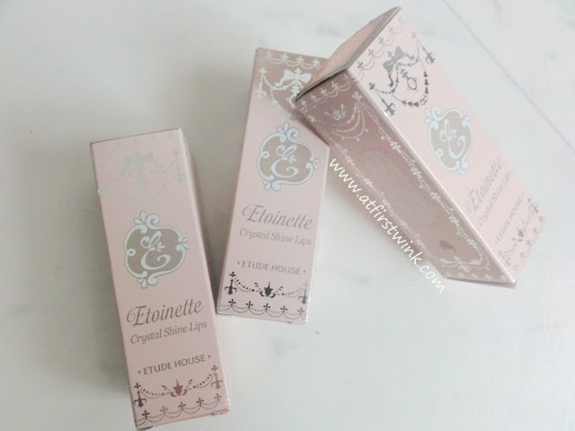 Etude House Etoinette Crystal Shine Lips lipsticks