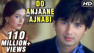 दो अनजाने अजनबी Do Anjaane Ajnabi Lyrics In Hindi