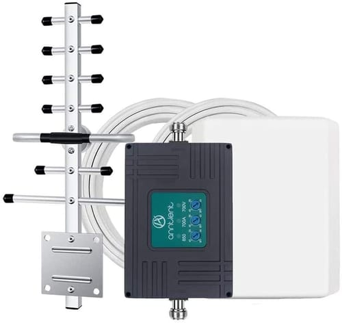 A ANNTLENT Tri-Band Cell Phone Signal Booster Repeater