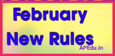 February New Rules