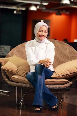 Artis cantik Hijab laudya cynthia bella ucapkan kata cinta di ultah dimas beck