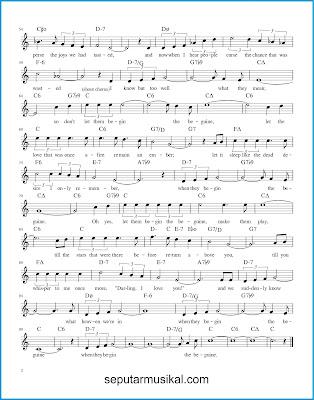 Begin The Beguine 2 chords jazz standar
