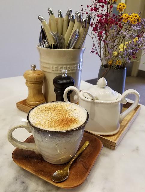Curator 23, Mt Waverley, soy chai latte