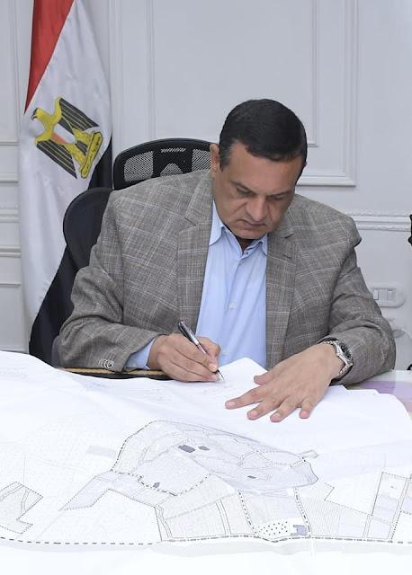 محافظ البحيرة يعتمد المخططات التفصليية ومشروع التقسيم لعدد من قرى مركز كوم حماده