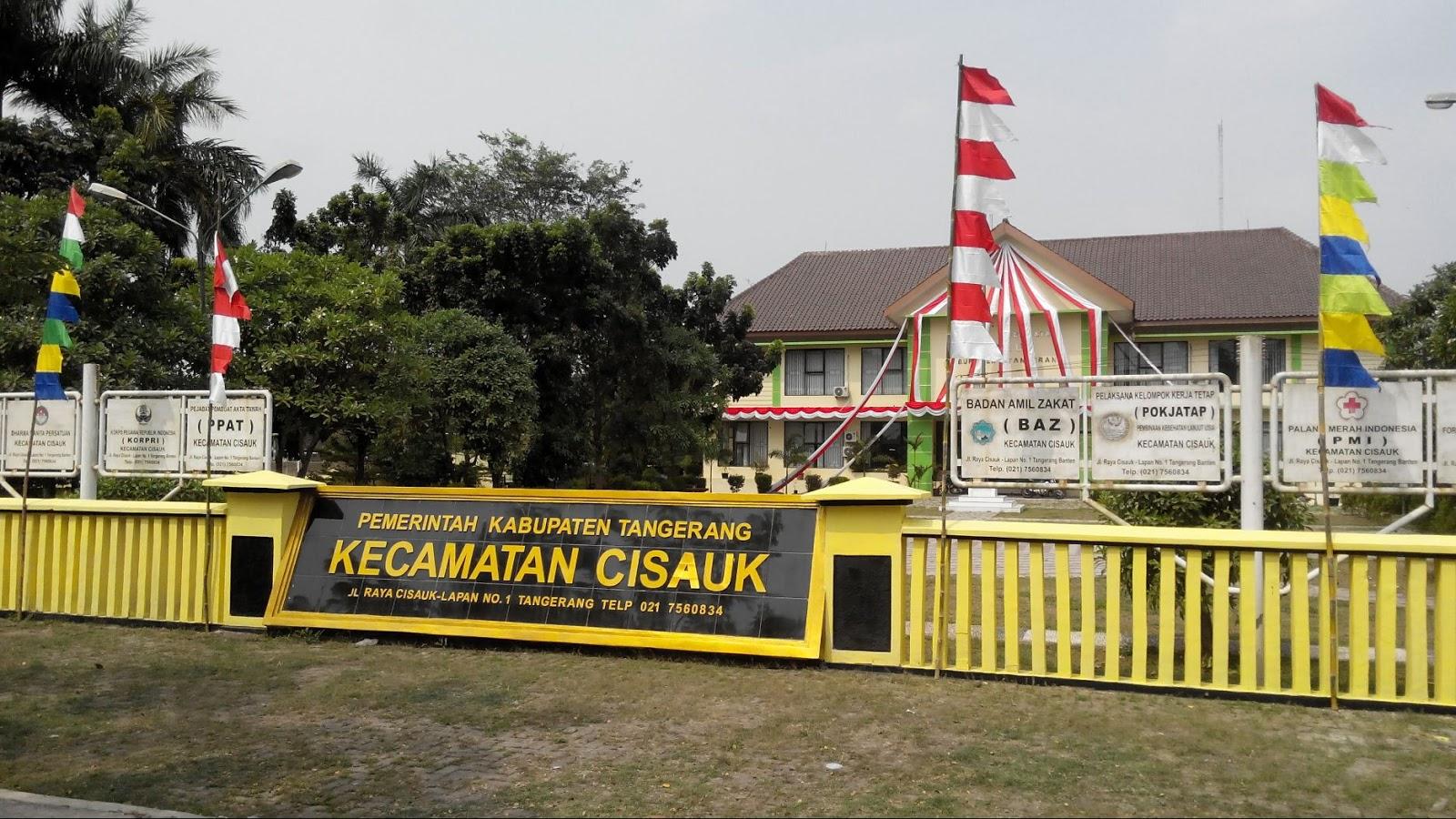 kantor kecamatan cisauk