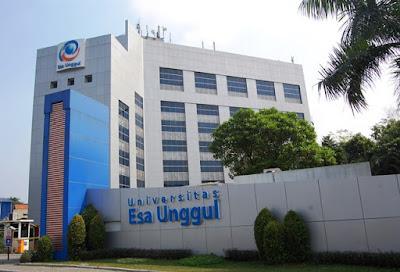 Jurusan di Universitas Esa Unggul – Daftar Fakultas dan Program Studi