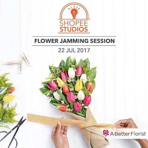 better florist flower arrangement class shopee studios
