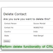 Full CRUD operation using datatables in ASP NET MVC | DotNet