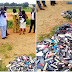 Drama as Ibadan destroys over 1,000 phones of students