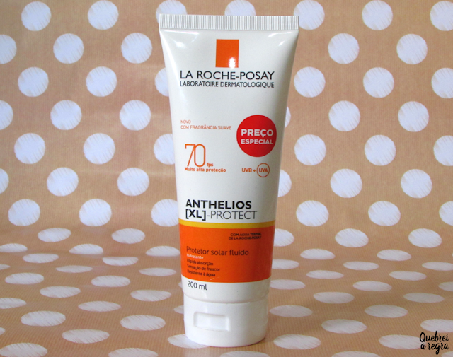 Protetor solar fluido FPS 70 para corpo e rosto Anthelios [XL]-Protect da La Roche-Posay