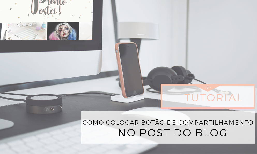 compartilhar post do blog