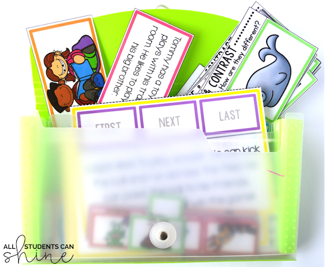 reading games storing ideas