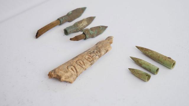 Gilded Scythian sword found at Mount Mamai excavations in Ukraine