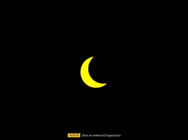 Realme X3 Superzoom S Camera Can Fly Us To The Solar Eclipse