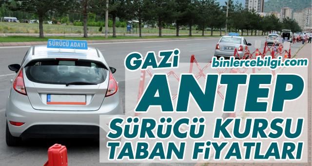 Gaziantep Sürücü Kursu Fiyatları 2021 Gaziantep Sürücü Kursları ehliyet taban fiyat listesi.
